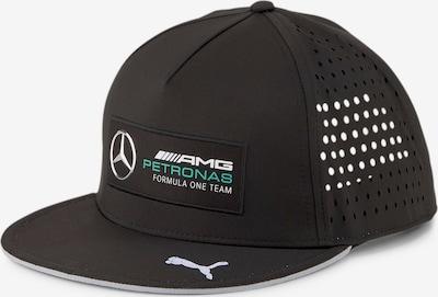 PUMA Cap  'Mercedes' in hellgrün / schwarz / silber / weiß, Produktansicht