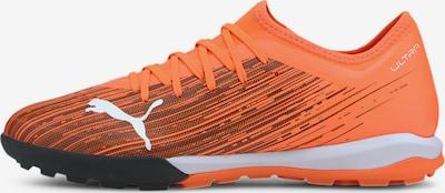 PUMA Voetbalschoen in de kleur Sinaasappel / Zwart / Wit, Productweergave