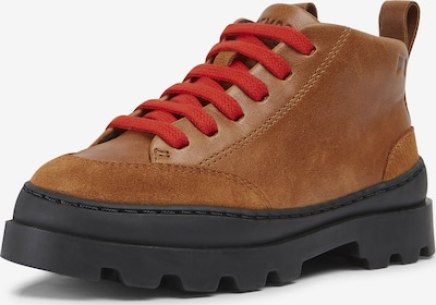 CAMPER Stiefel ' Brutus ' in camel / rot, Produktansicht
