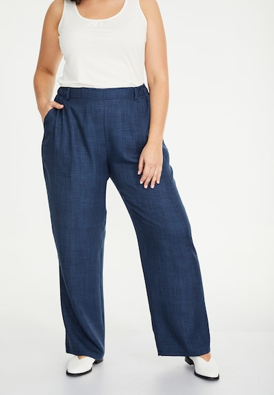 SPGWOMAN Hose in blau / blue denim, Modelansicht