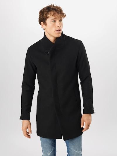 Rudeninis-žieminis paltas iš JACK & JONES , spalva - juoda, Modelio vaizdas