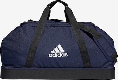 ADIDAS PERFORMANCE Fußballtasche in blau / schwarz / weiß, Produktansicht