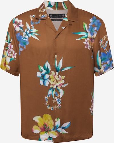 AllSaints Košeľa 'Hana' - hnedá / zmiešané farby, Produkt