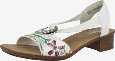 RIEKER Sandalette in weiß, Produktansicht