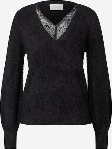 VILA Пуловер в черно