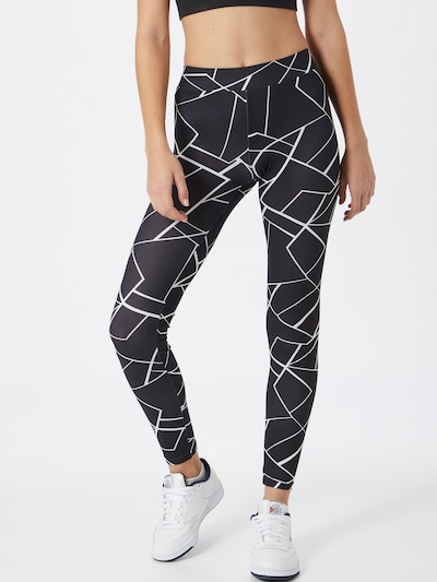 Urban Classics Legíny - černá / bílá, Model/ka