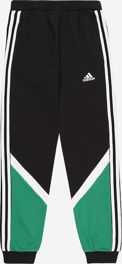 ADIDAS PERFORMANCE Spodnie sportowe 'Comfort' w kolorze zielony / czarny / białym, Podgląd produktu