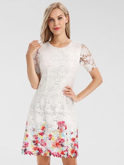 APART Kleid in mischfarben / weiß, Modelansicht