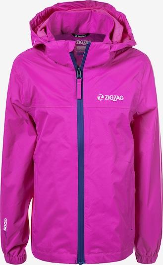 ZigZag Funktionsjacke 'Echo' in pink, Produktansicht