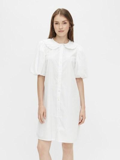 PIECES Blousejurk in de kleur Wit, Modelweergave