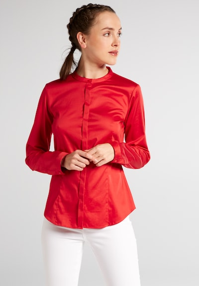 ETERNA Bluse in rot: Frontalansicht