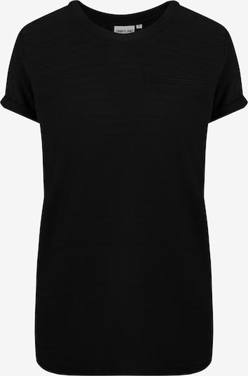 Finn Flare Einfarbiges Basic-Shirt für Damen in schwarz, Produktansicht