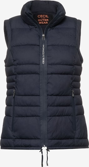 CECIL Vest in Blue, Item view