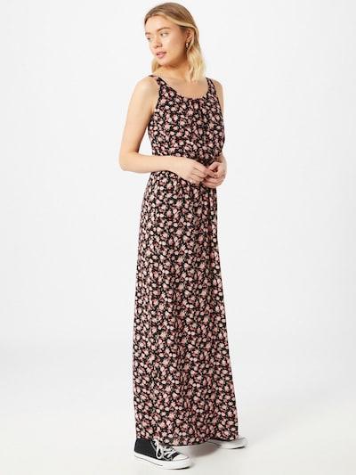 Hailys Kleid 'Doris' in grün / rosa / pitaya / hellpink / schwarz, Modelansicht