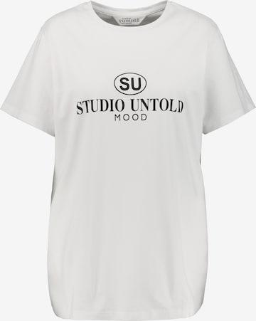 Studio Untold T-Shirt in Weiß