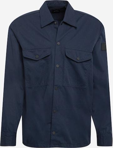 BOSS Casual Hemd 'Lovel' in Blau