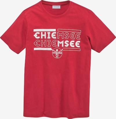 CHIEMSEE T-Shirt in rot / weiß, Produktansicht
