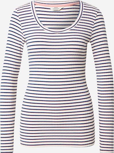 MADS NORGAARD COPENHAGEN Shirt in blau / rosa / schwarz / weiß, Produktansicht