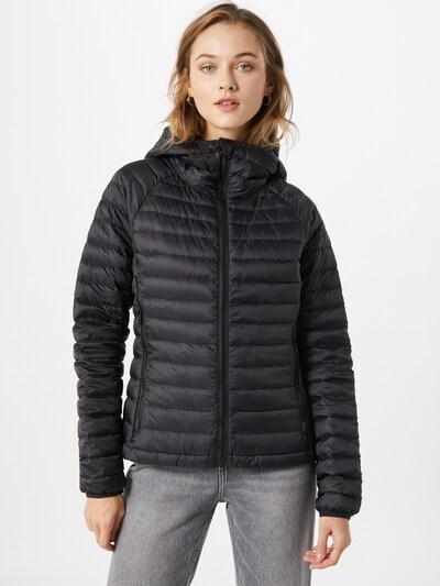UNITED COLORS OF BENETTON Prijelazna jakna u crna: Prednji pogled