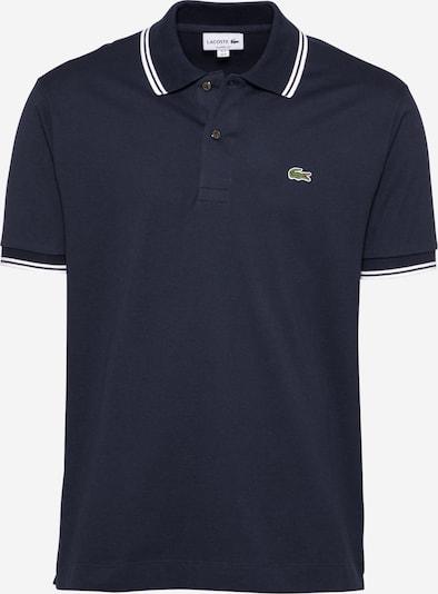 LACOSTE Shirt in de kleur Navy / Wit, Productweergave