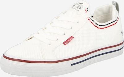MUSTANG Baskets basses en blanc, Vue avec produit
