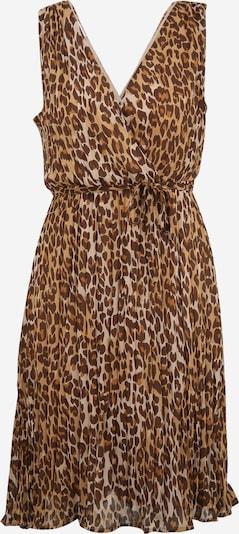 Vila Petite Kleid 'RENETA' in beige / karamell / hellbraun / dunkelbraun, Produktansicht