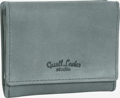 Gusti Leder Portemonnee 'Hurley' in de kleur Grijs, Productweergave