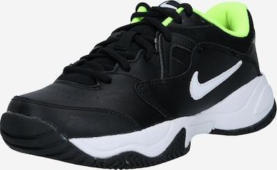 Nike Sportswear Sportovní boty 'Court Lite 2' - svítivě žlutá / černá / bílá, Produkt