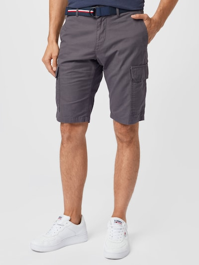 TOMMY HILFIGER Shorts  'JOHN' in dunkelgrau, Modelansicht