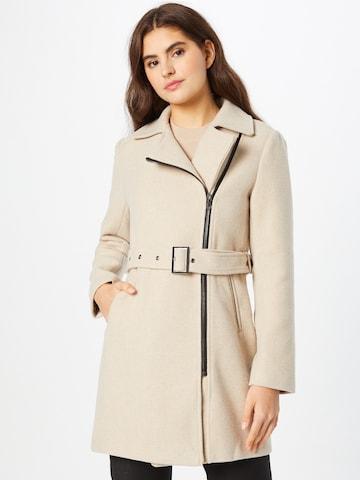 ABOUT YOU Prechodný kabát 'Meike' - Béžová