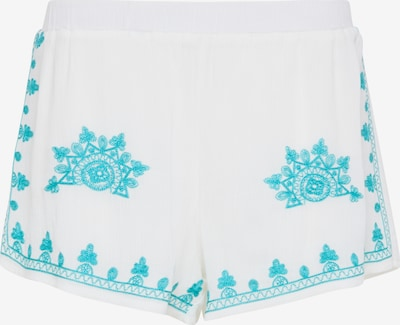 IZIA Trousers in Turquoise / White, Item view