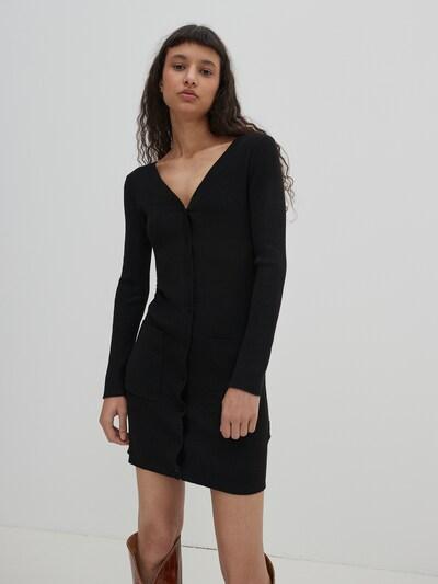 Rochie 'Emely' EDITED pe negru, Vizualizare model