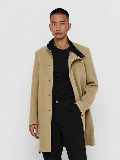 Only & Sons Manteau d'hiver en beige, Vue avec modèle