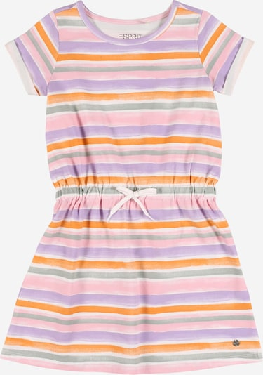 ESPRIT Kleid in grün / lila / orange / rosa / weiß, Produktansicht