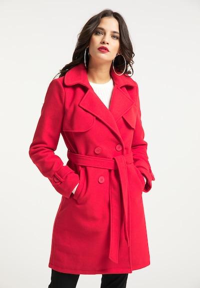 faina Tussenmantel in de kleur Rood, Modelweergave