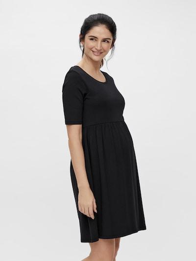 MAMALICIOUS Obleka 'Elnora' | črna barva: Frontalni pogled
