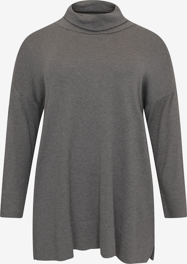 Yoek Trui 'Cosy' in de kleur Stone grey, Productweergave