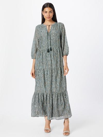 s.Oliver BLACK LABEL Kleid in dunkelgrün / mischfarben, Modelansicht