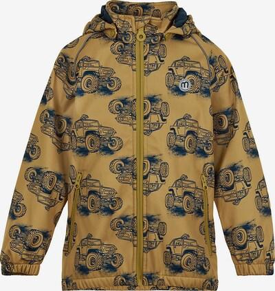 MINYMO Jacke in nachtblau / braun, Produktansicht