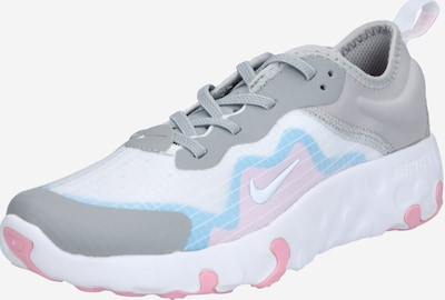 Nike Sportswear Baskets 'Lucent' en bleu clair / gris / rose pastel / blanc, Vue avec produit