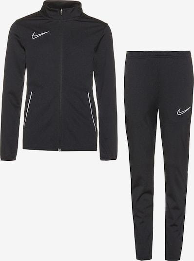 NIKE Trainingsanzug 'Academy' in schwarz / weiß, Produktansicht