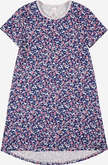 Skiny Nachthemd in de kleur Navy / Framboos / Wit, Productweergave
