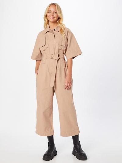 DIESEL Jumpsuit 'MARTY-A' in de kleur Beige, Modelweergave