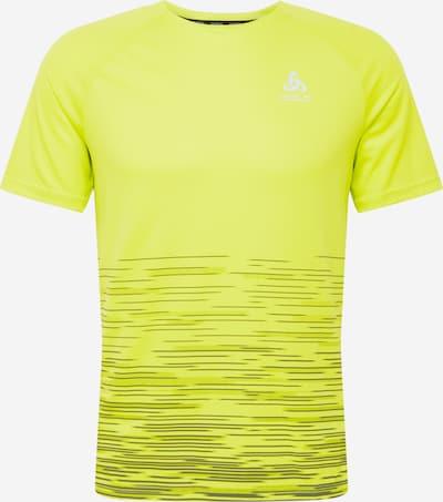ODLO Sportshirt in neongelb / grau, Produktansicht