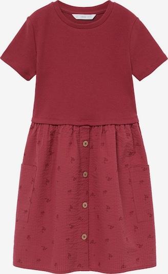 MANGO KIDS Kleid 'Berta8' in rostrot / karminrot, Produktansicht