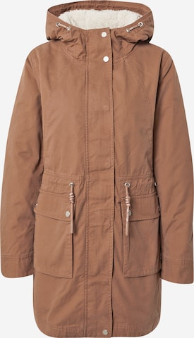 Q/S by s.Oliver Between-Seasons Parka in Brown