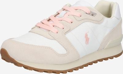 POLO RALPH LAUREN Sneaker low i lysebeige / lyserød / hvid, Produktvisning