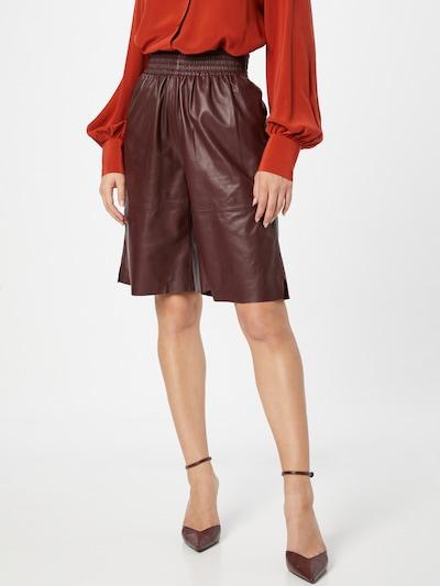 Samsoe Samsoe Shorts 'Ariah' in rostbraun, Modelansicht