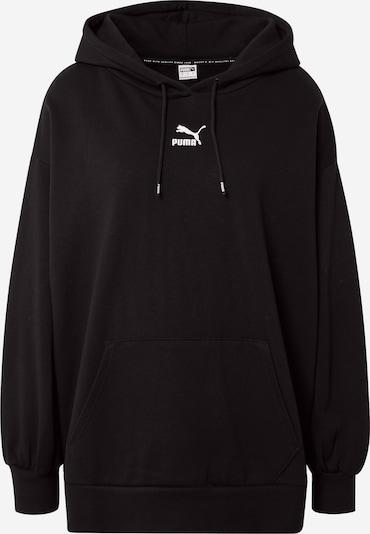 PUMA Sweatshirt i sort / hvid, Produktvisning
