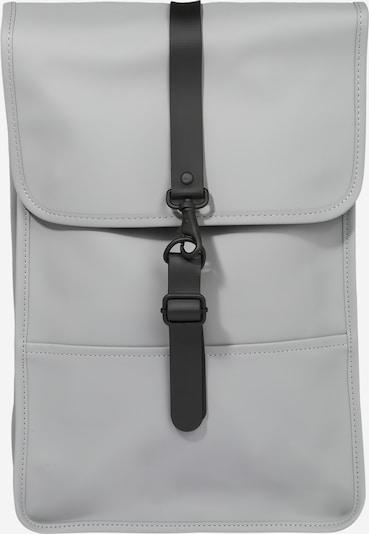 RAINS Mugursoma 'Backpack Mini', krāsa - pelēks / melns, Preces skats